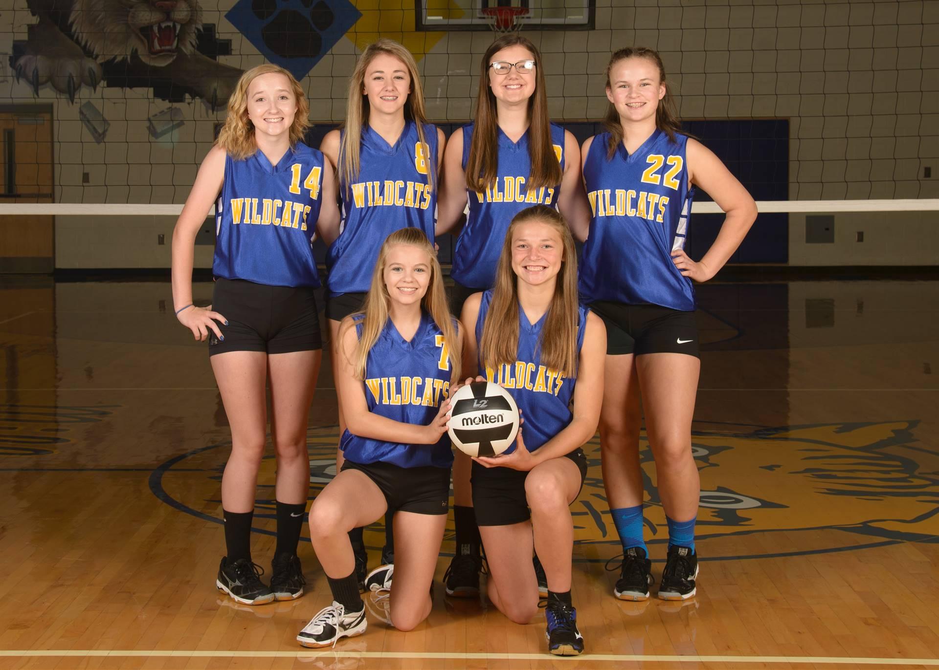 8th Grade Volleyball Photo