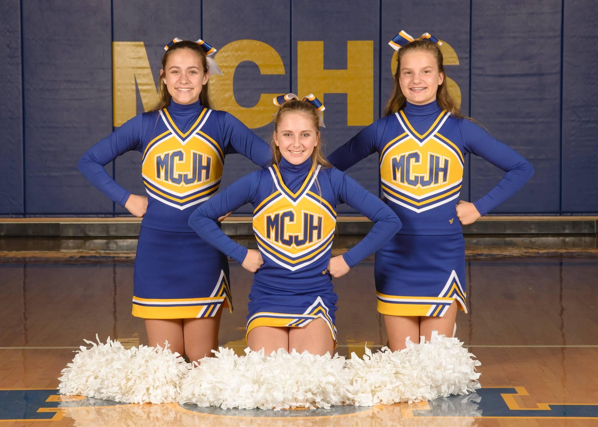 7th Grade Cheer Photo