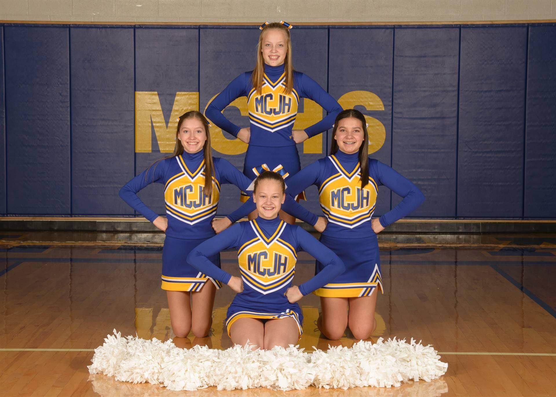 8th Grade Cheer Photo